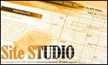 Site Studio: онлайн демо